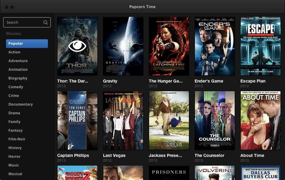 Popcorn Time Alternatives And Similar Software