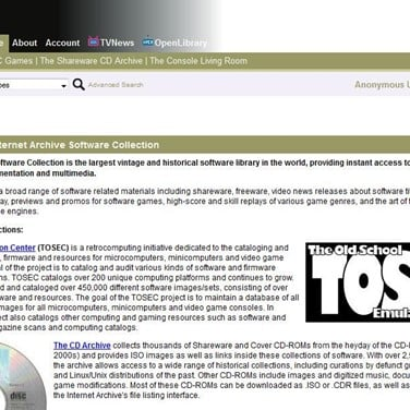 Internet Archive Alternatives and Similar Websites and Apps