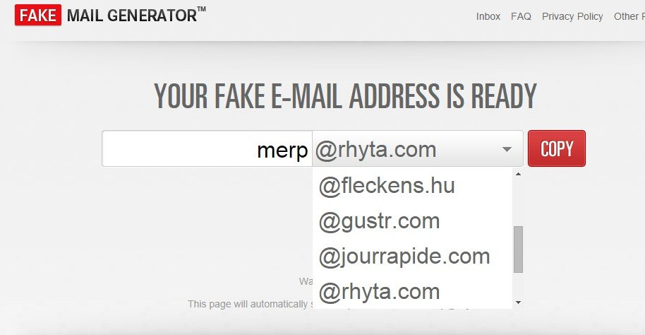 Fake Mail Generator Alternatives and Similar Software