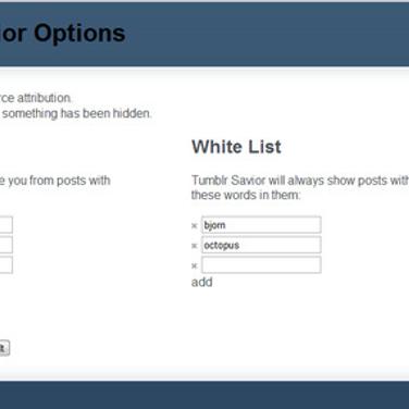 Tumblr Savior Alternatives and Similar Software