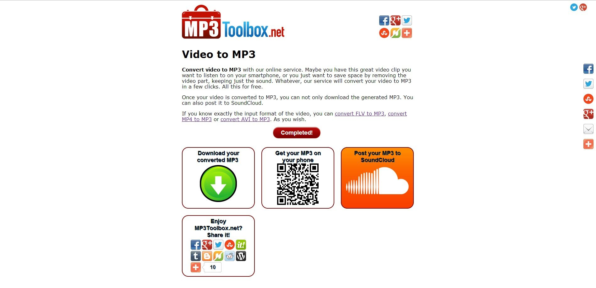 MP3Toolbox net Alternatives and Similar Websites and Apps
