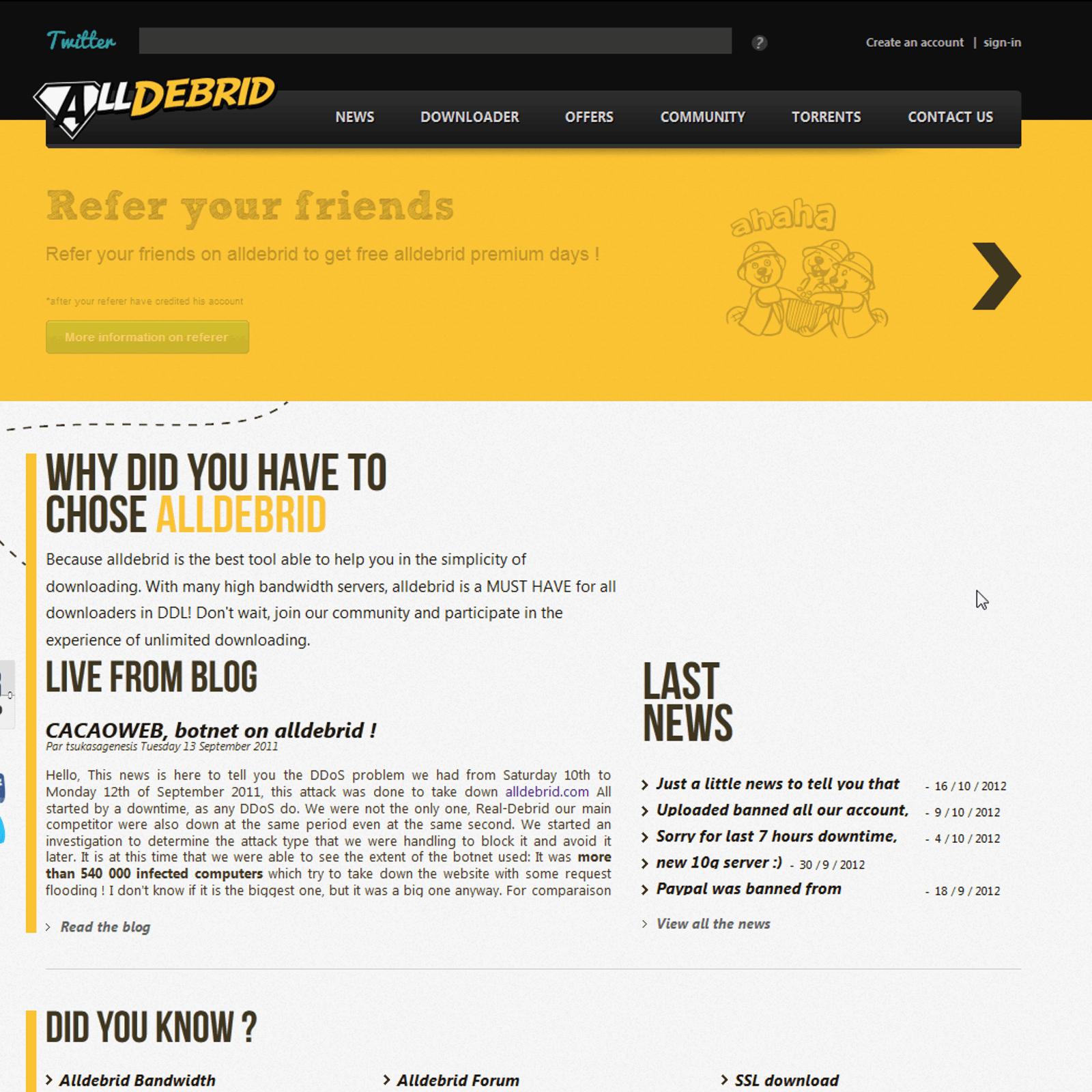 Alldebrid Alternatives and Similar Software - AlternativeTo net