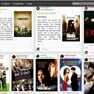 Home page: Find out what your friends and filmbuffs you follow are watching