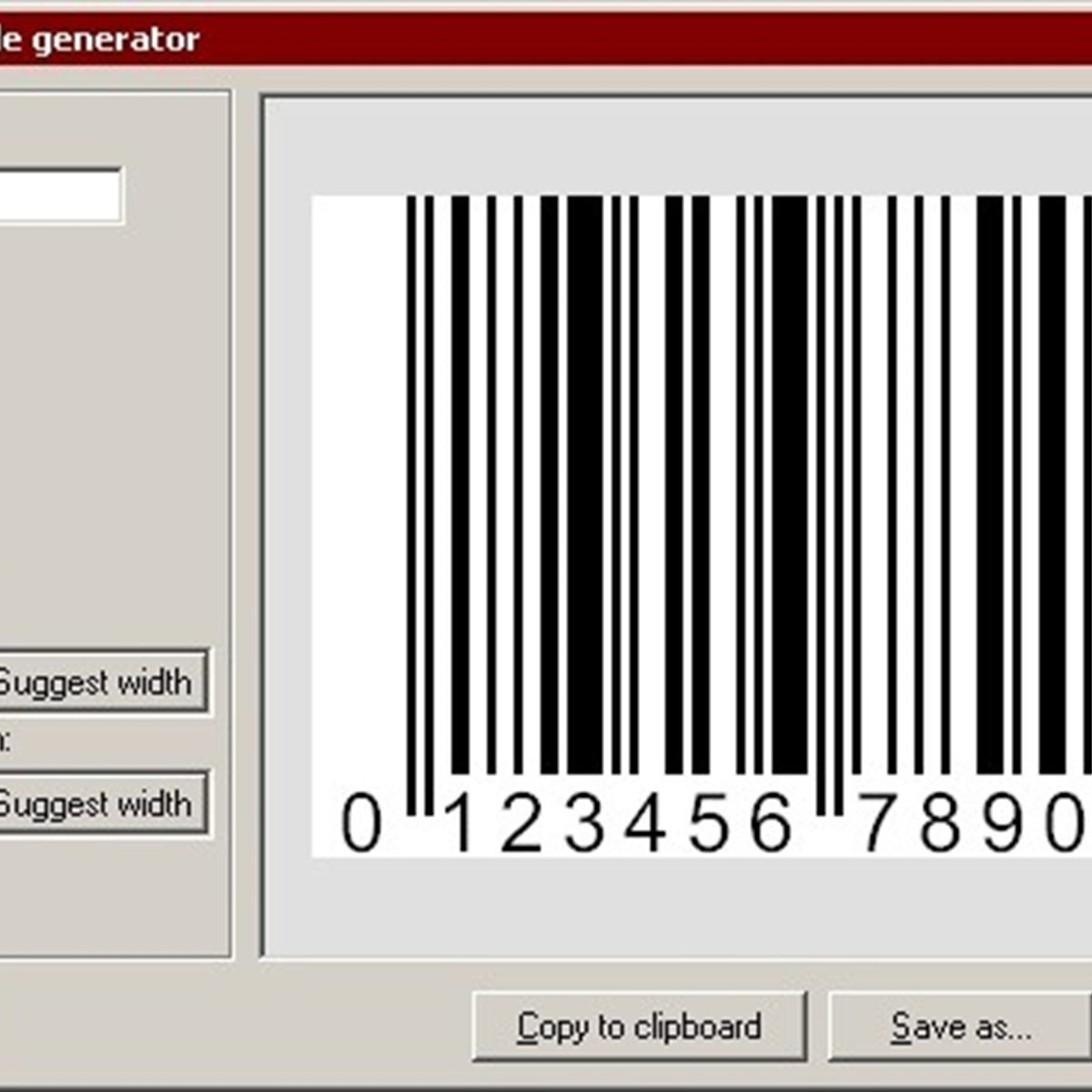 EAN-13 Barcode Generator Alternatives and Similar Software ...