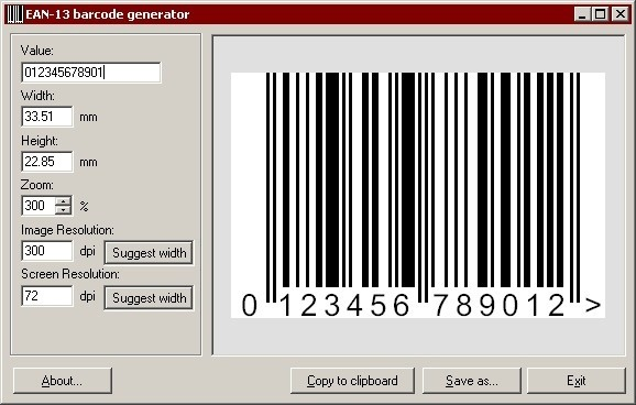 EAN-13 Barcode Generator Alternatives and Similar Software - AlternativeTo.net