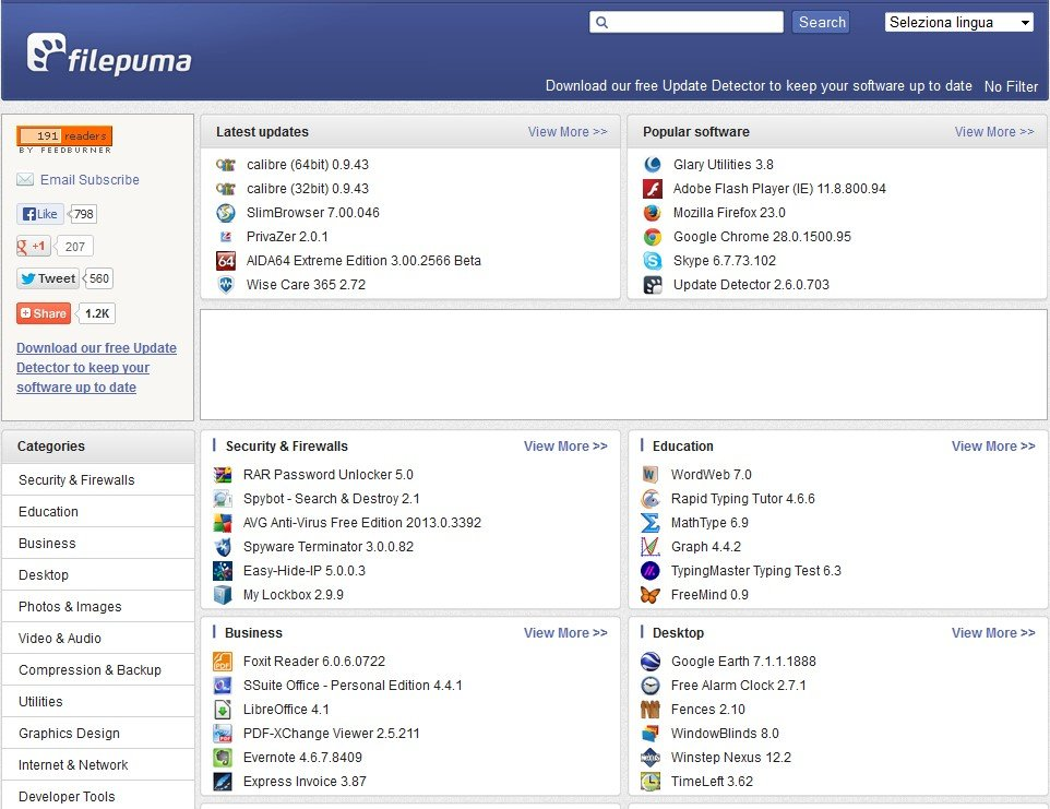 Dipendente Raramente Interagire  Filepuma.com Alternatives and Similar Websites and Apps - AlternativeTo.net