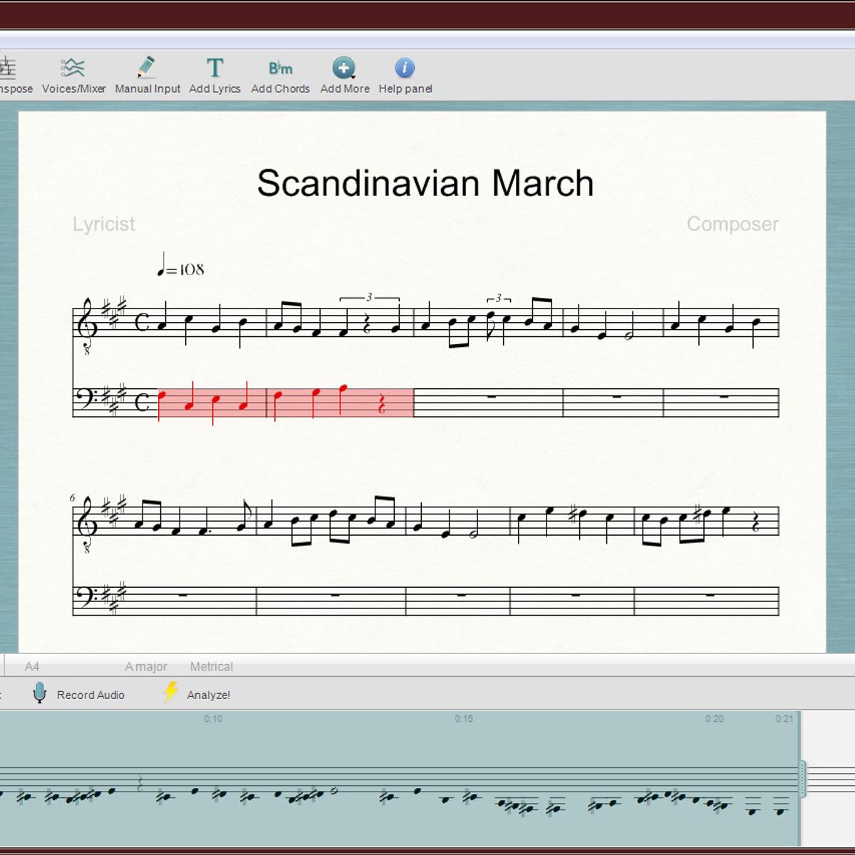 ScoreCloud Studio Alternatives and Similar Software