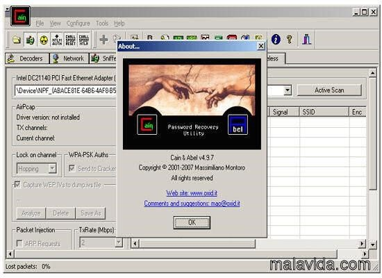 airpcap driver for cain and abel free download