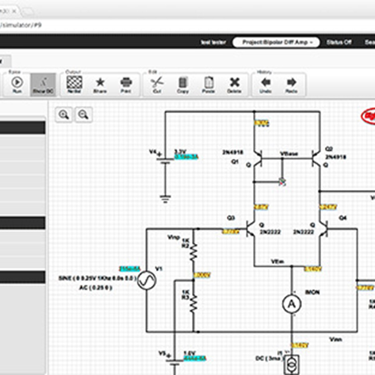 Partsim Alternatives And Similar Websites Apps Timer Circuit Diagram Also Circuitlab Online Schematic Editor
