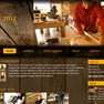An example of a website for a wood store