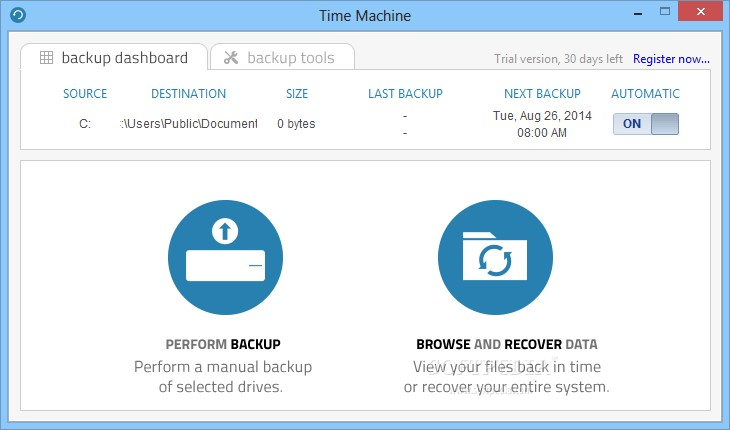 AX64 Time Machine Alternatives and Similar Software