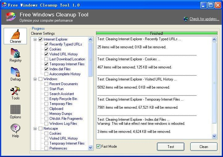 Free Windows Cleanup Tool Alternatives and Similar Software