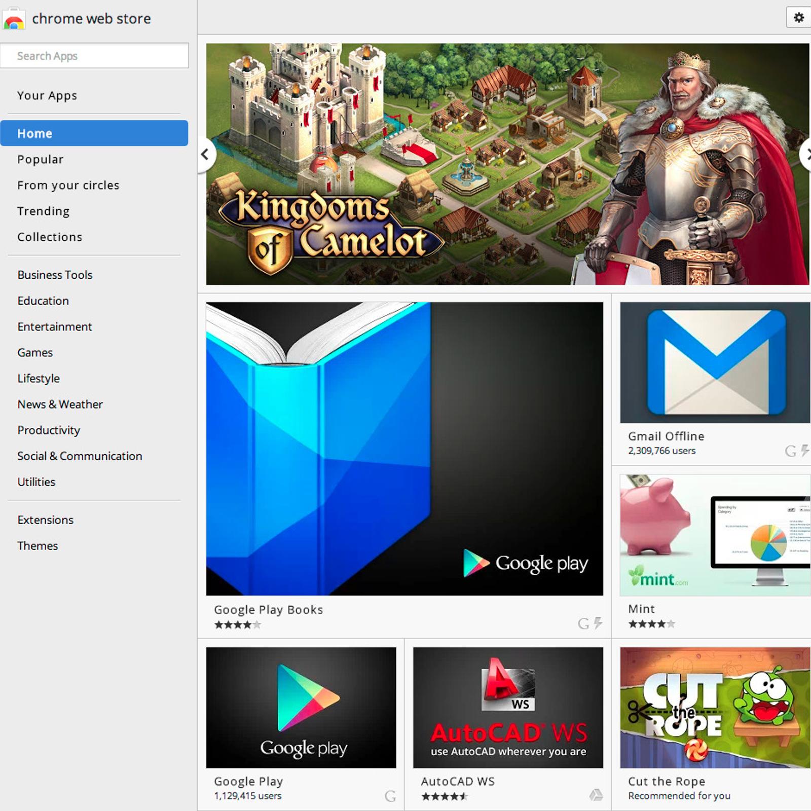 Chrome Web Store Alternatives and Similar Software