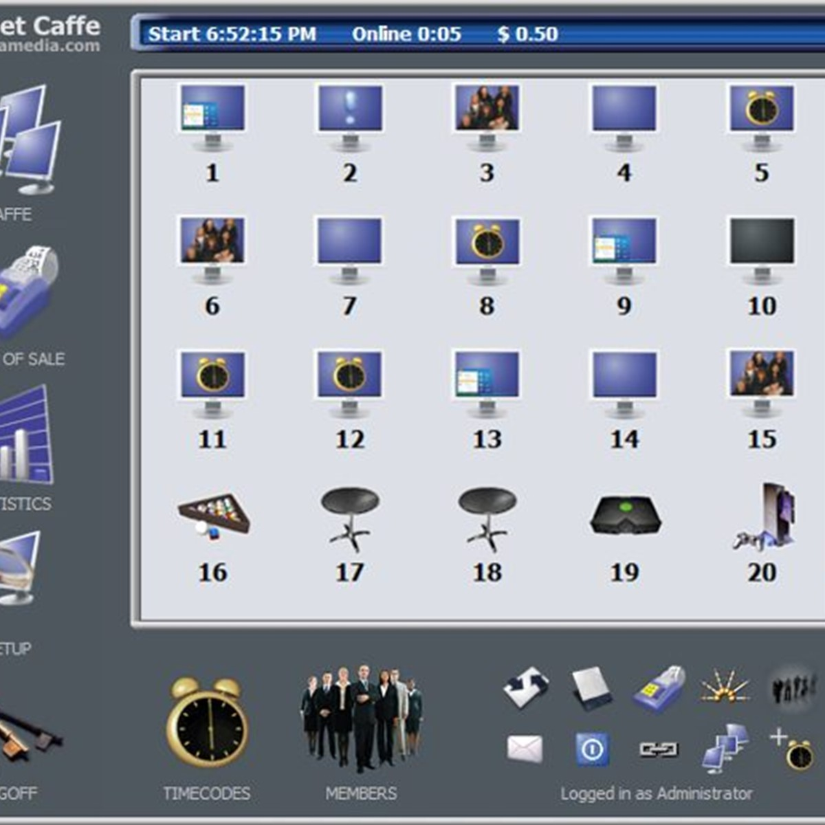 Internet Cafe Utilities