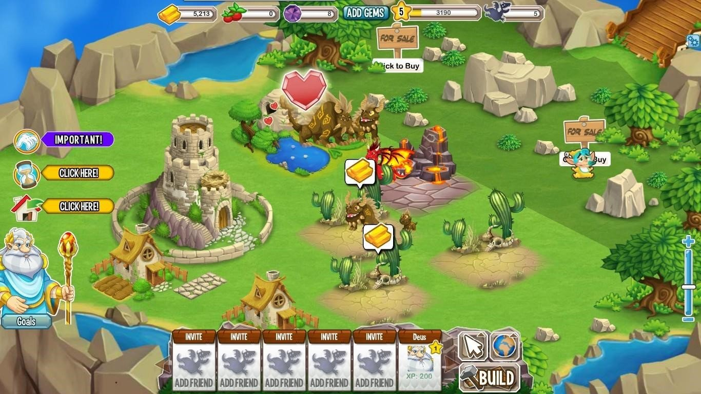 find interesting hacks about dragon city game