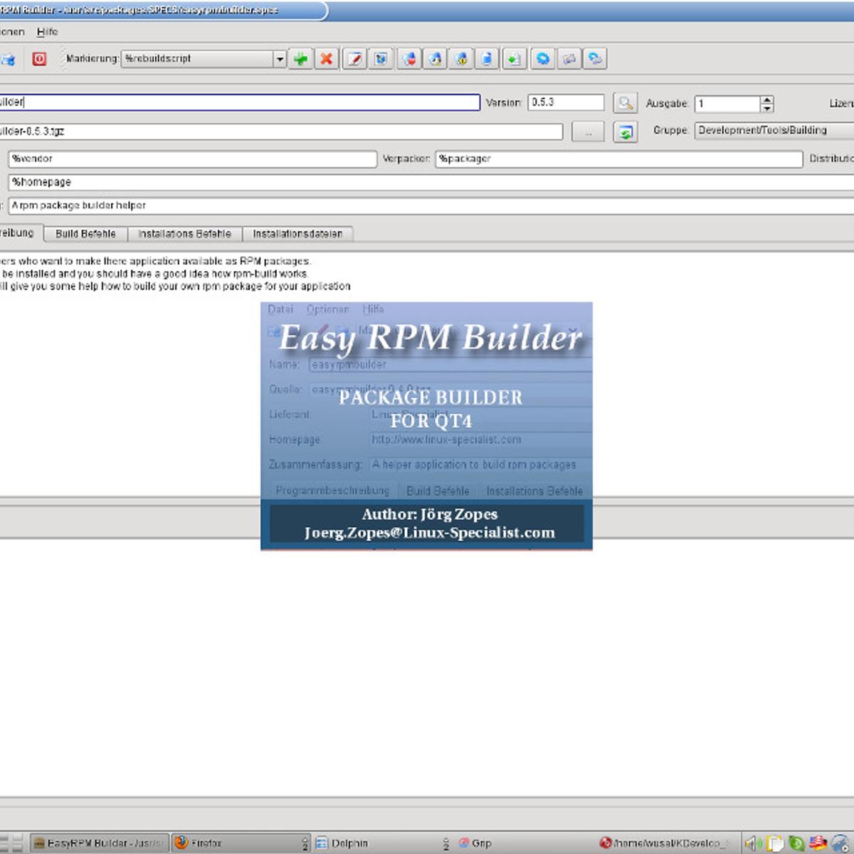 Easy RPM Builder Alternatives for Linux - AlternativeTo net