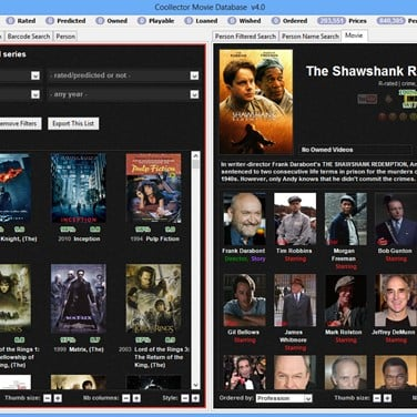 Coollector Movie Database Alternatives and Similar Software