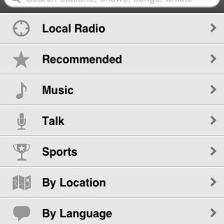 TuneIn Radio Reviews, Features, and Download links