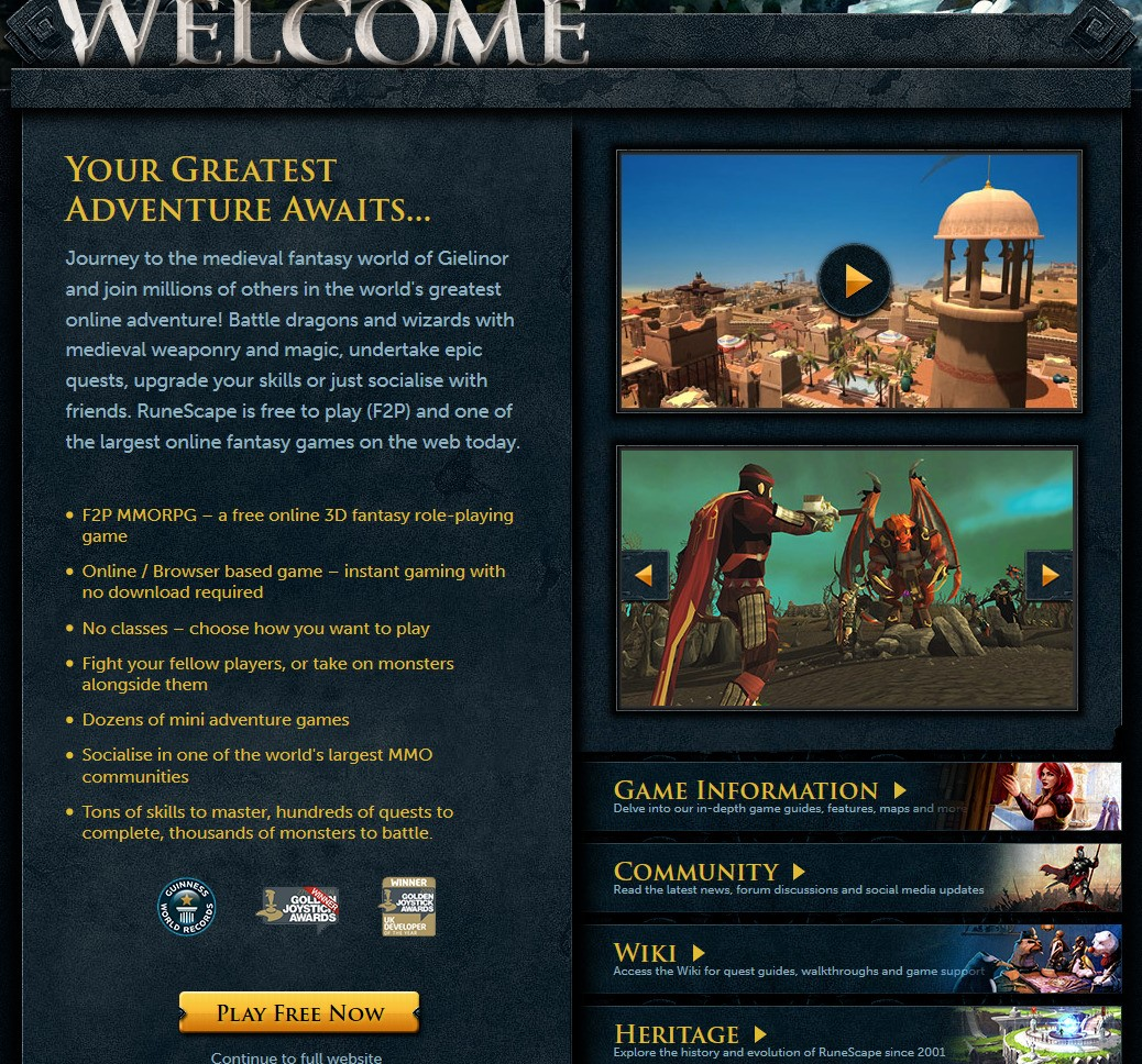 Runescape Alternatives and Similar Games - AlternativeTo net