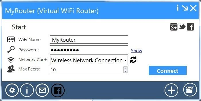virtual wifi router for windows 10