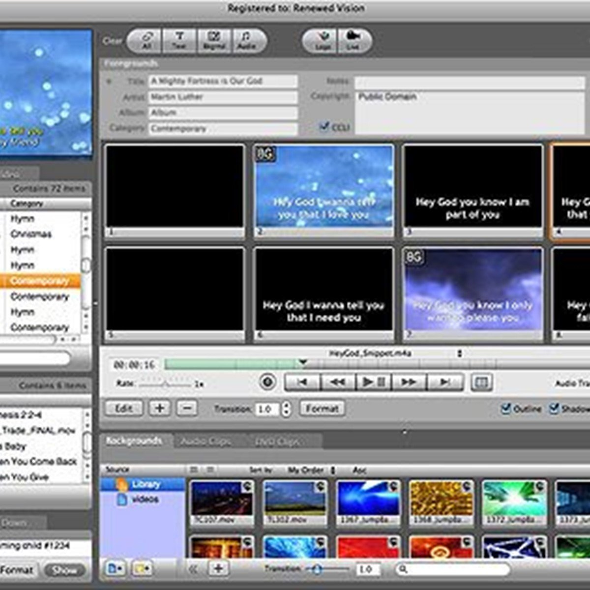 ProPresenter Alternatives and Similar Software
