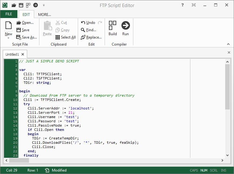 syncplify me ftp script alternatives and similar software