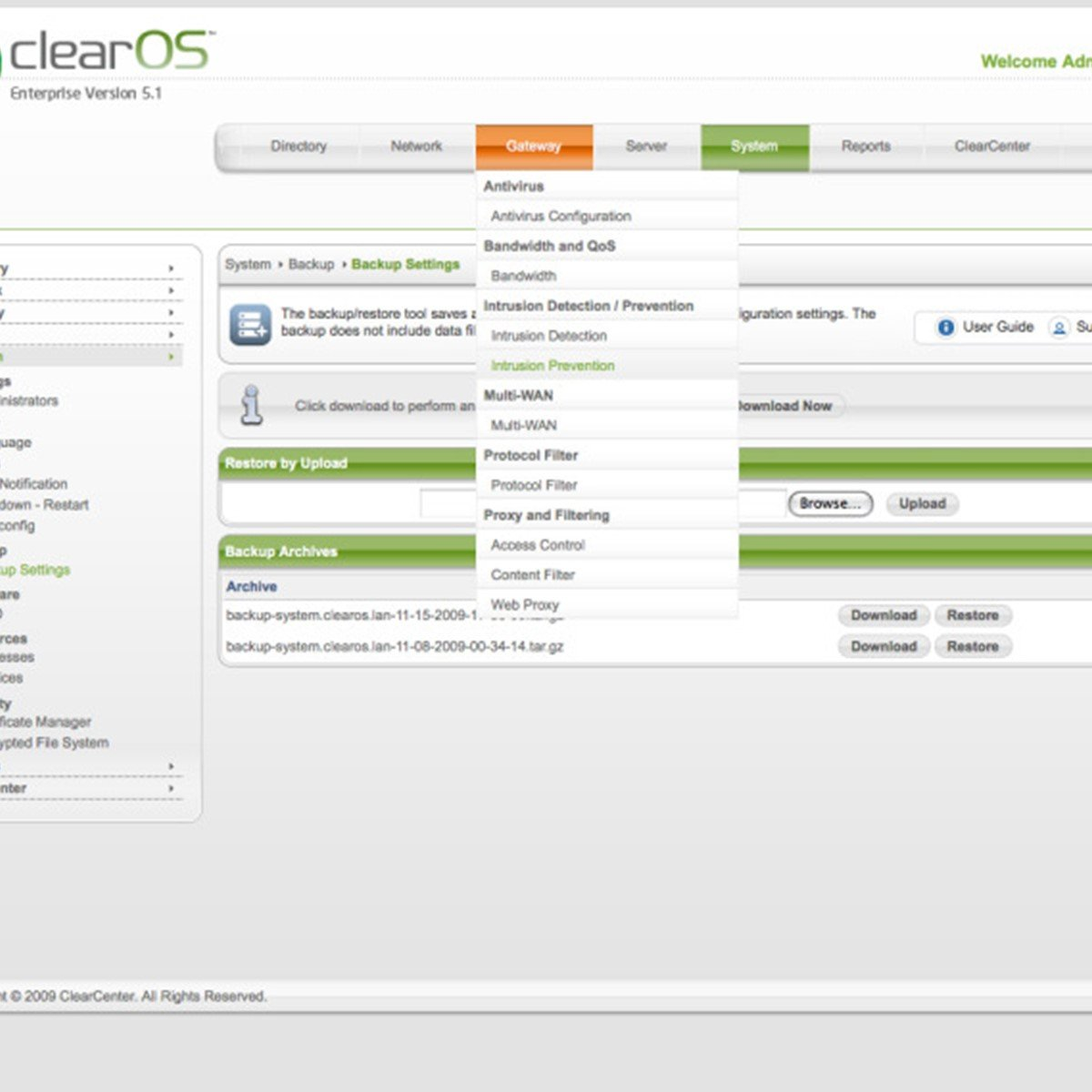 Open Source ClearOS Alternatives tagged with VPN