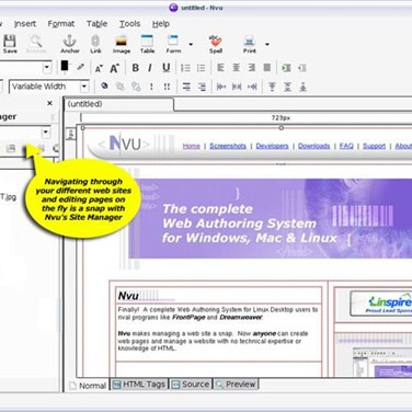 Nvu Alternatives And Similar Software Alternativeto Net
