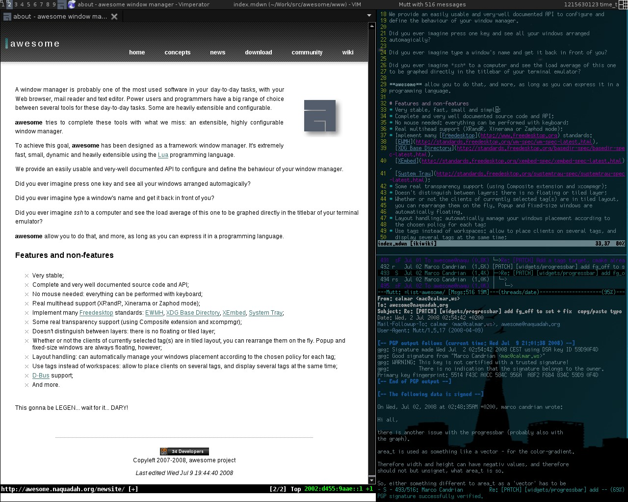 Amethyst A Tiling Window Manager For Mac