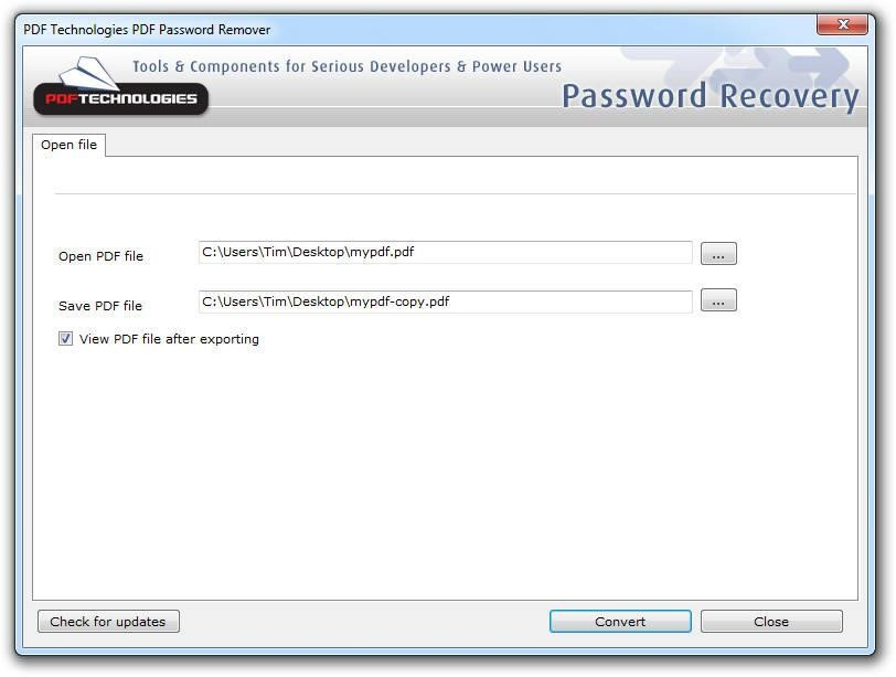 PDF Password Remover Tool Alternatives and Similar Software