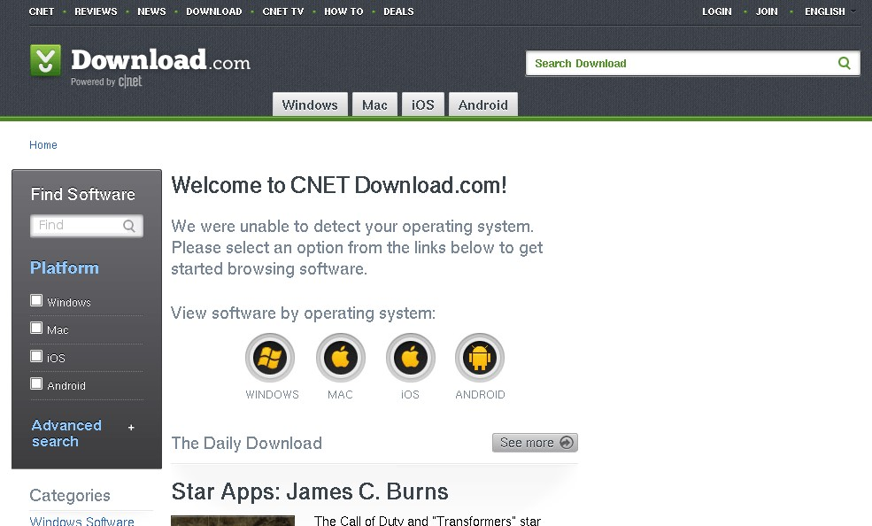 Warning: cnet download. Com downloads now come bundled with opt-out.
