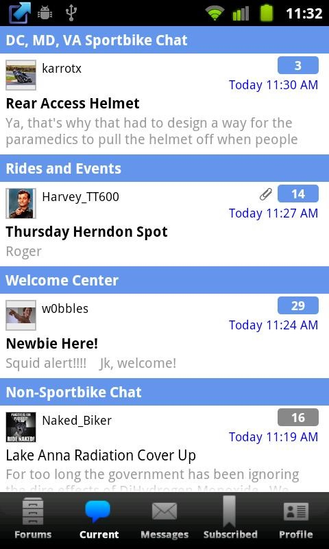 Forum runner free android