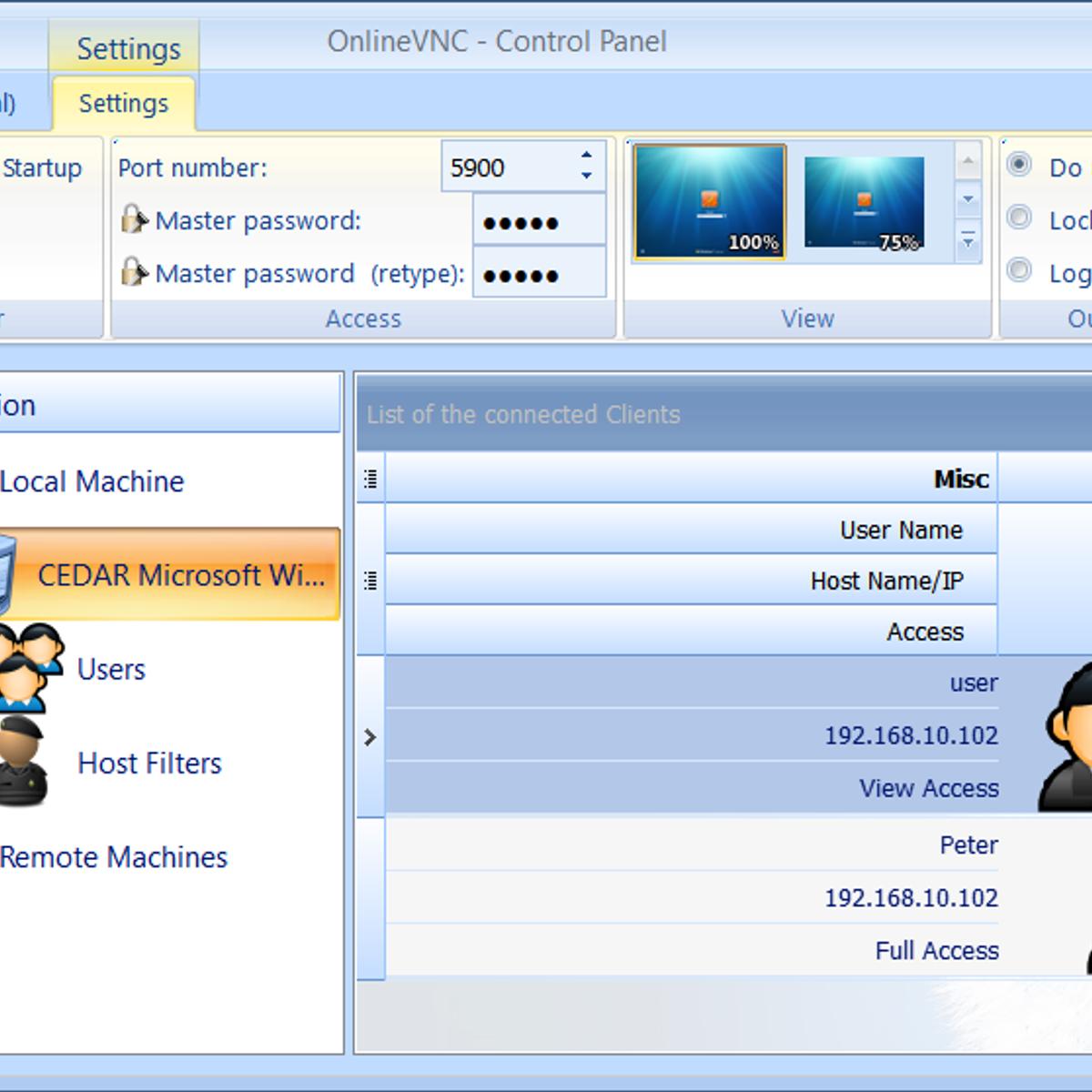 Html5 vnc web client
