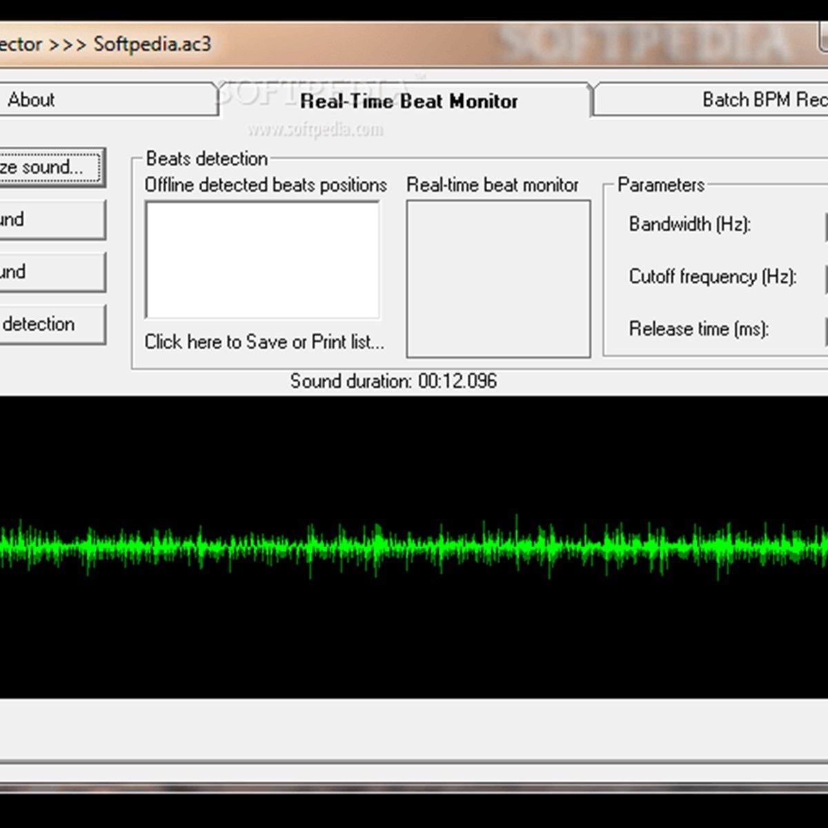 Audio Beat Detector Alternatives and Similar Software