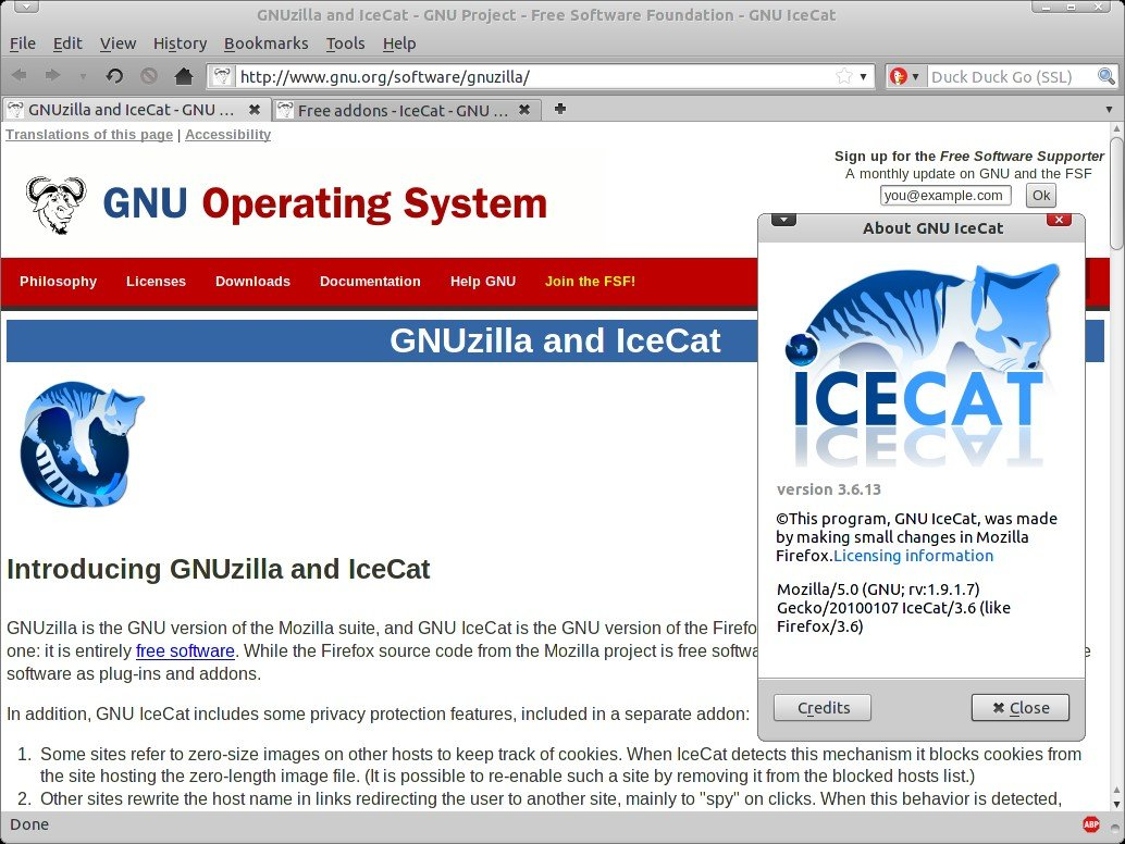 Open Source Gnu Icecat Alternatives For Windows