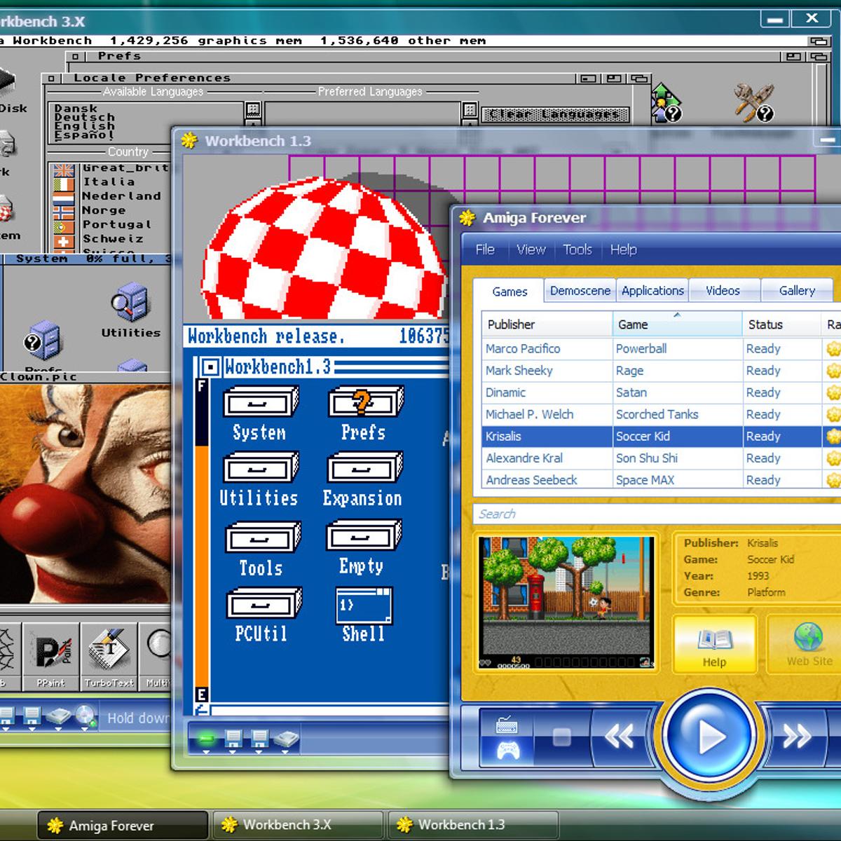 Amiga Forever Alternatives and Similar Games - AlternativeTo net