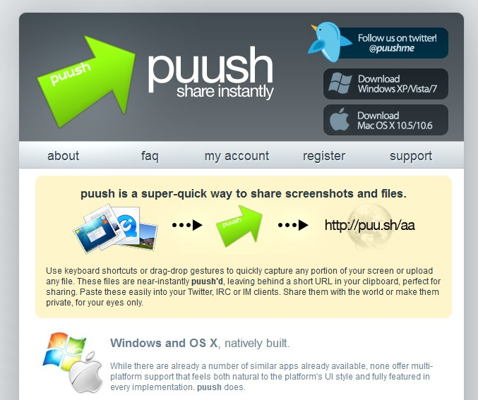Puush alternatives and similar software alternativeto website ccuart Image collections