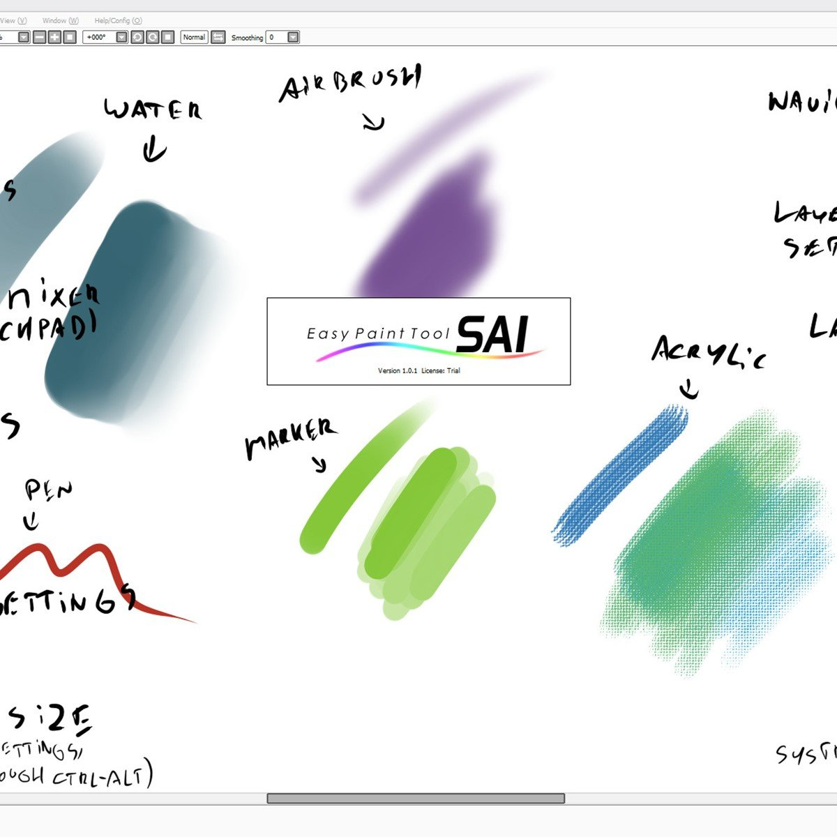 systemax paint tool sai
