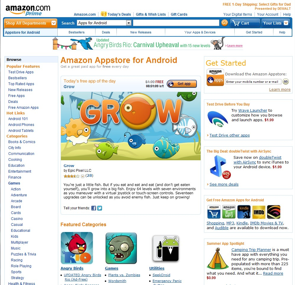 free download amazon appstore for android apk
