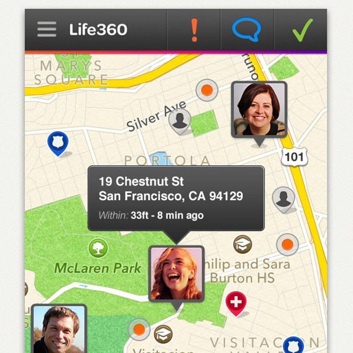 Life360 Family Locator Alternatives for Android Tablet