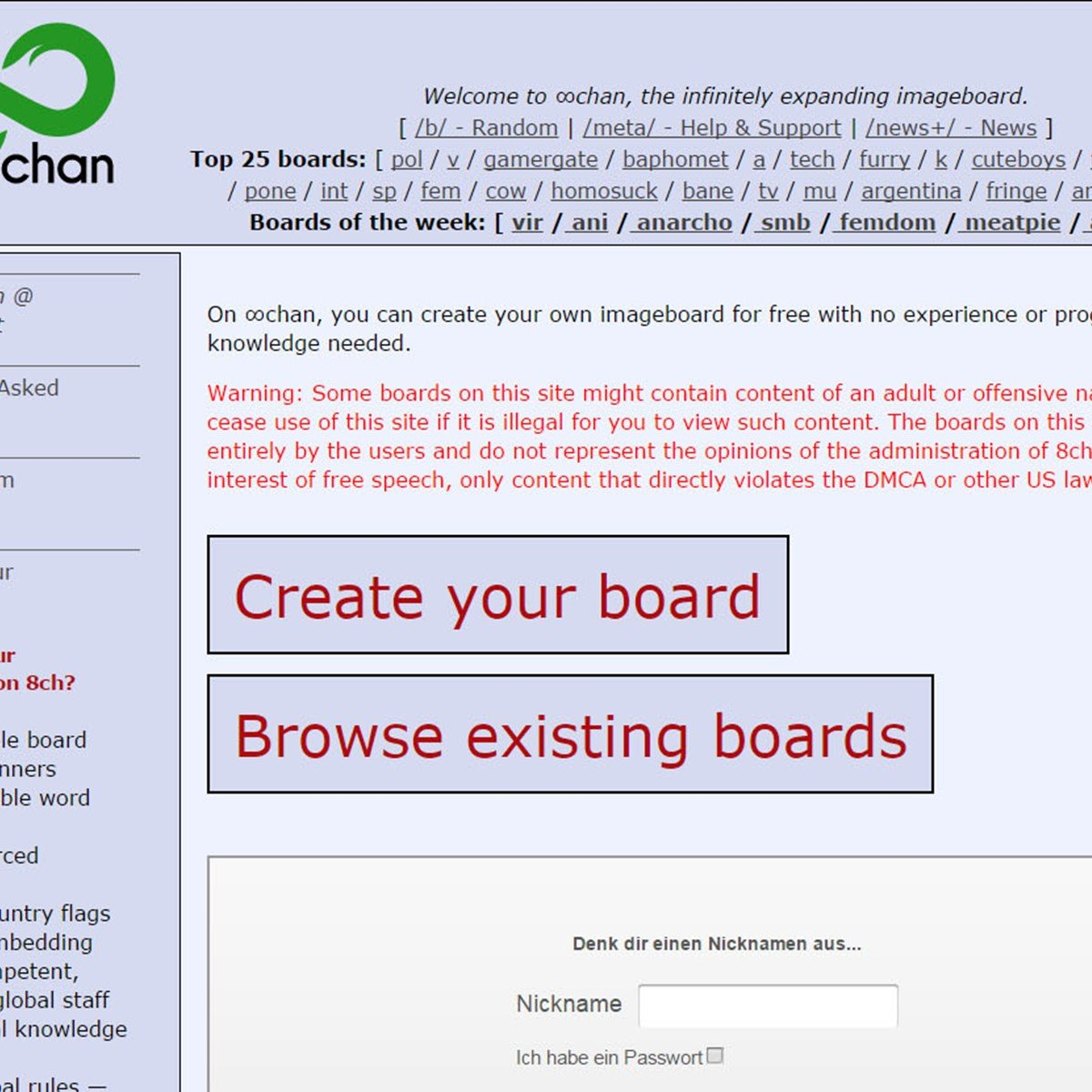 8chan Alternatives and Similar Websites and Apps