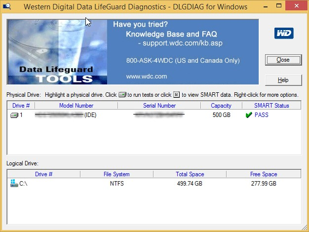 3d36a194c74e It s possible to update the information on Data Lifeguard Diagnostic or  report it as discontinued