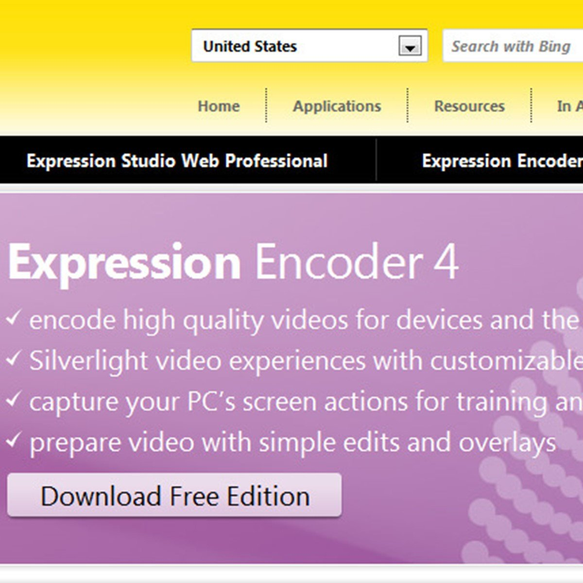 Microsoft Expression Encoder Alternatives And Similar
