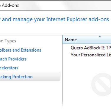 Quero AdBlock IE Alternatives and Similar Software