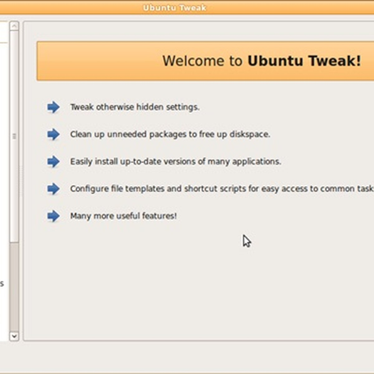 Ubuntu Tweak Alternatives and Similar Software - AlternativeTo net