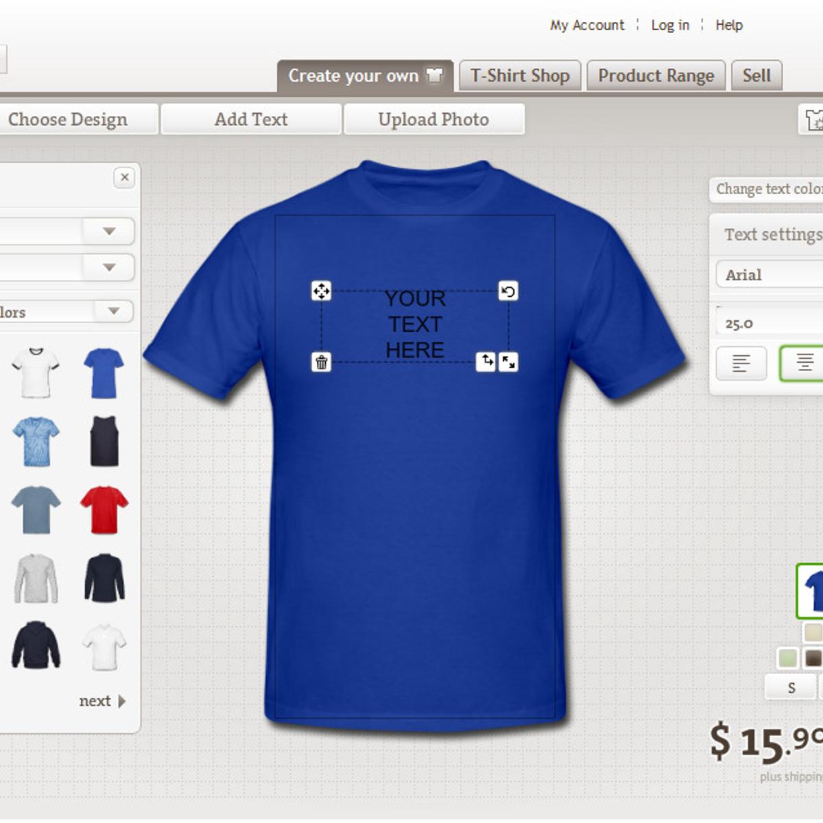 Spreadshirt.com T-Shirt Review - YouTube