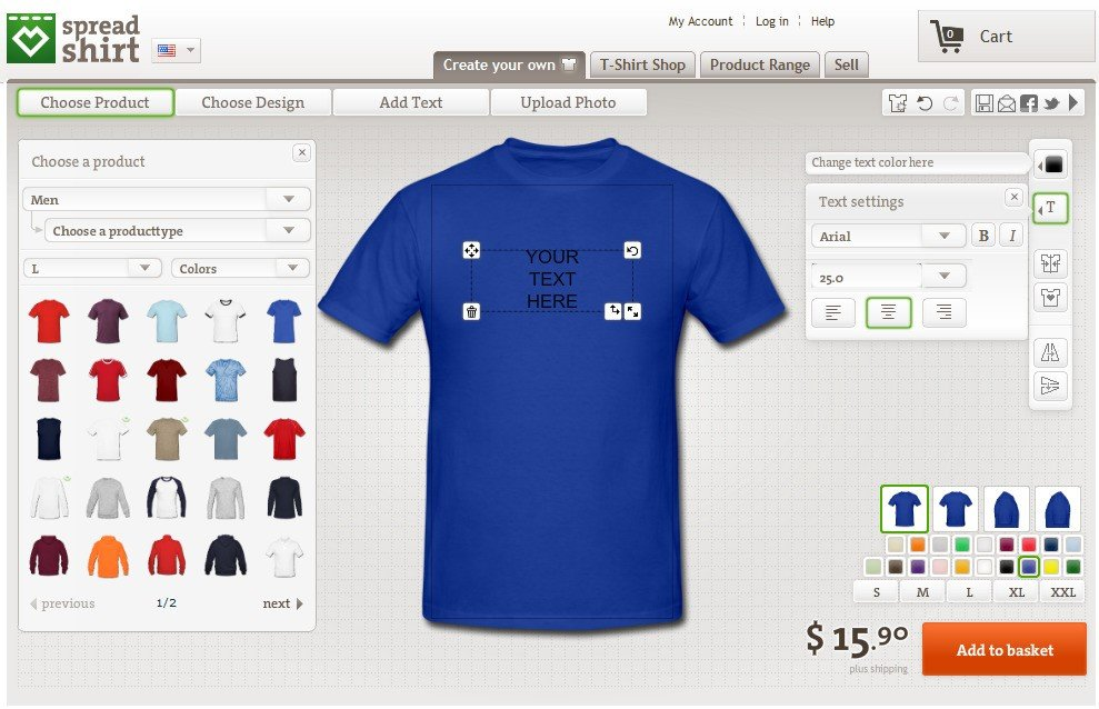 8ce74166d69f Spreadshirt Alternatives and Similar Websites and Apps ...