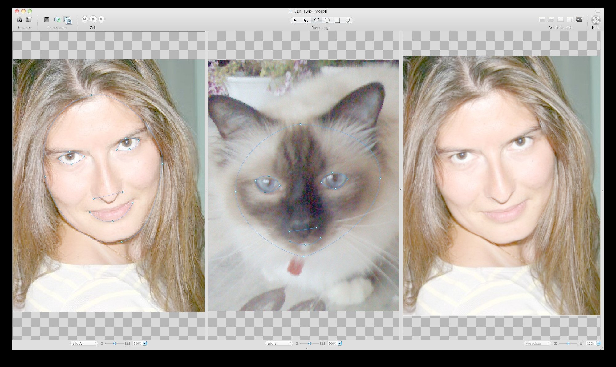 Photo morphing software for mac computer