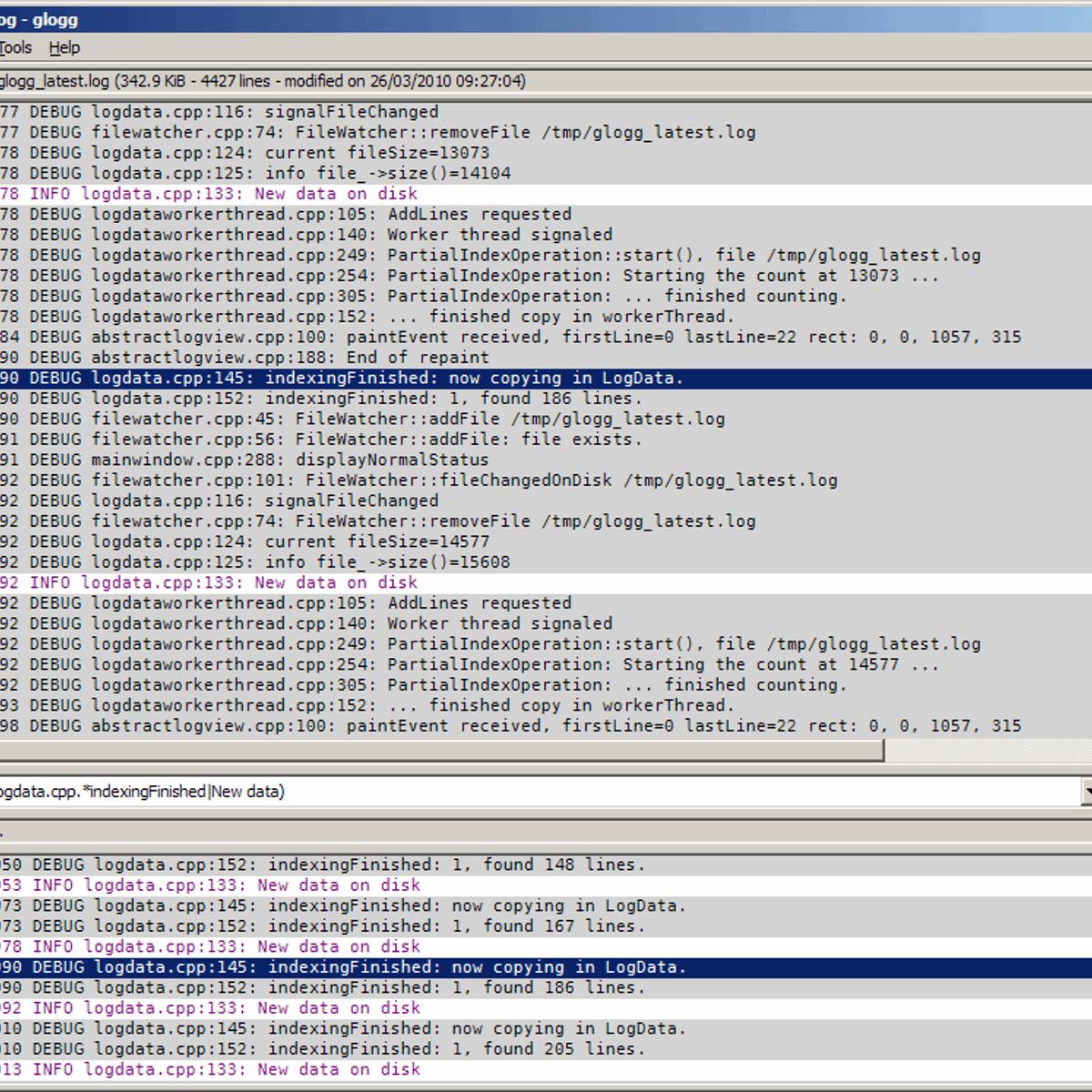 glogg Alternatives and Similar Software - AlternativeTo net