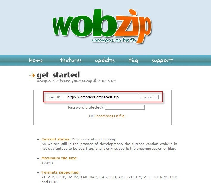 WobZIP Alternatives and Similar Websites and Apps